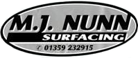 MJ Nunn Surfacing Ltd Logo
